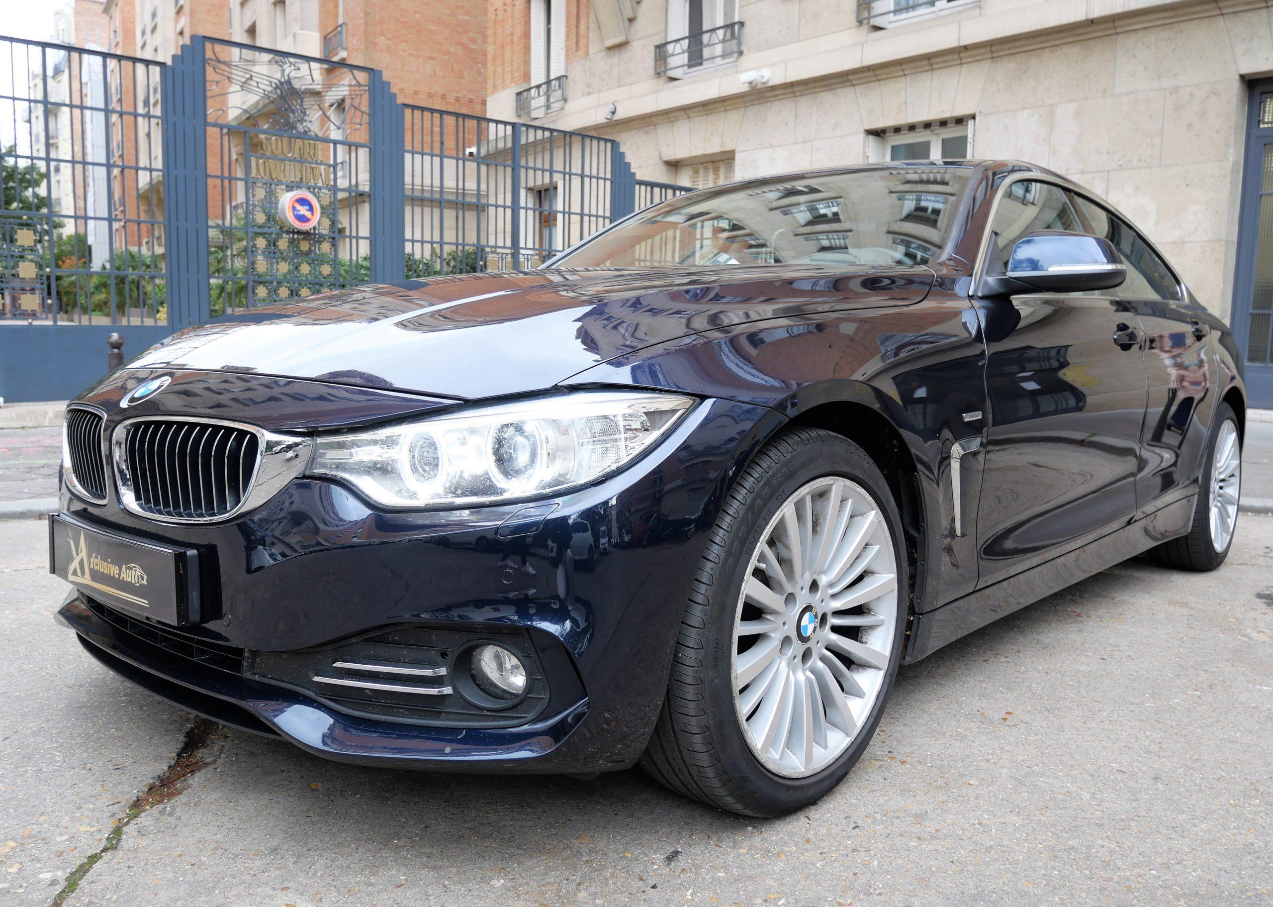 BMW Série 4 (F36) Luxury Gran Coupé 418d 2.0 d 143 ch