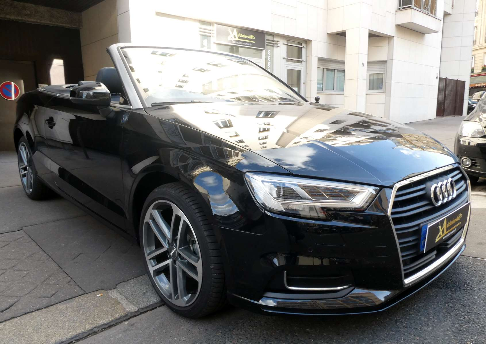 Audi A3 (2) cabriolet 35 TFSI 150 Design luxe S tronic 7 8