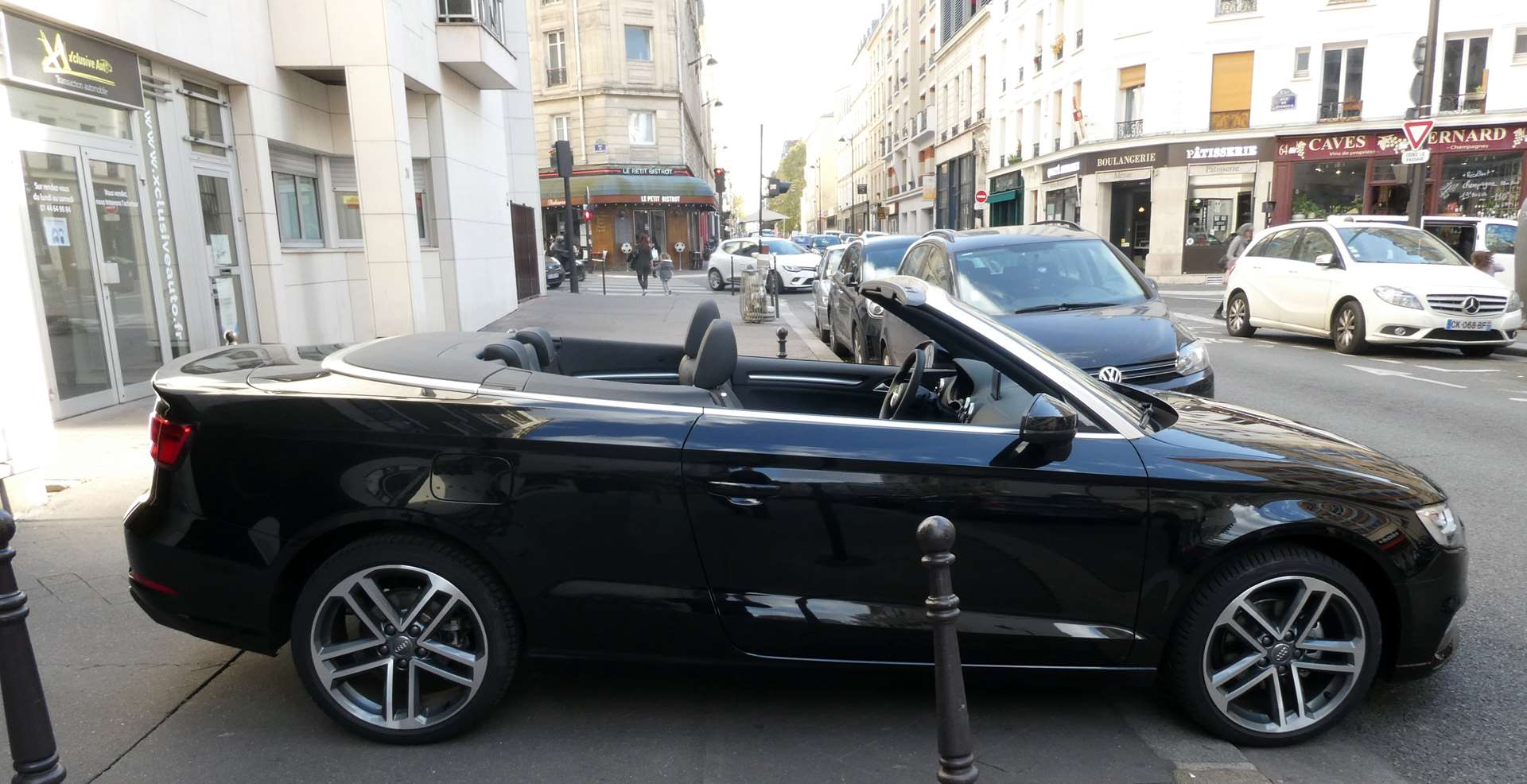 Audi A3 (2) cabriolet 35 TFSI 150 Design luxe S tronic 7 9