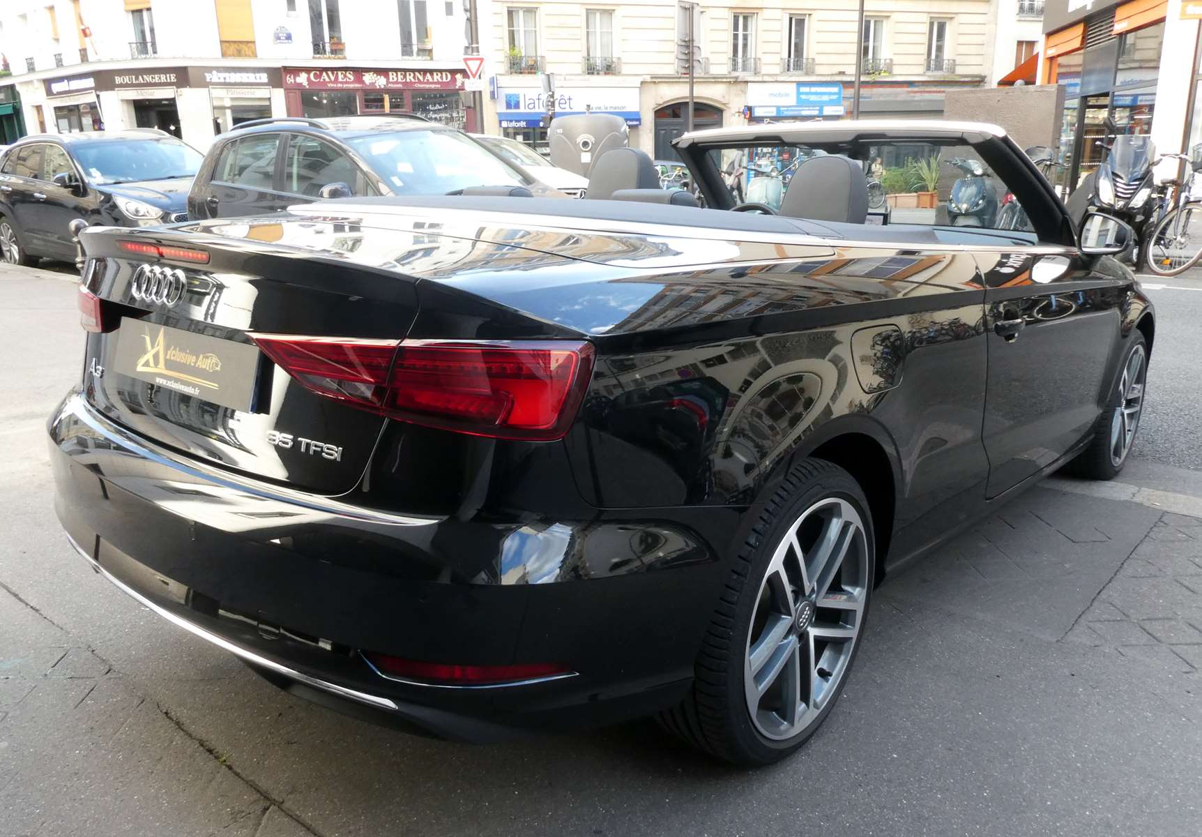 Audi A3 (2) cabriolet 35 TFSI 150 Design luxe S tronic 7 10